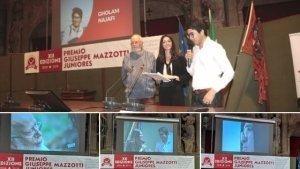 Padre Onore Gholam Najafi Premio Giuseppe Mazzotti Juniores 2019