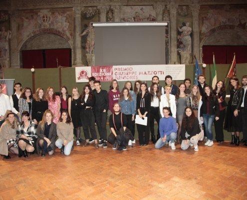 Ragazzi premiati Premio Juniores Mazzotti Treviso